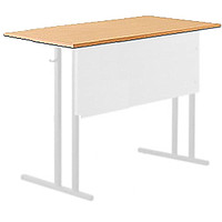 Столешница парты школьного двухместного стола ученического